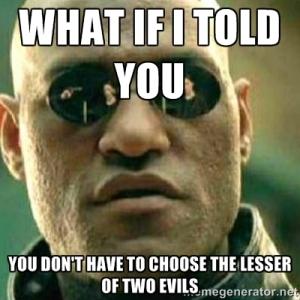 lesserofevils